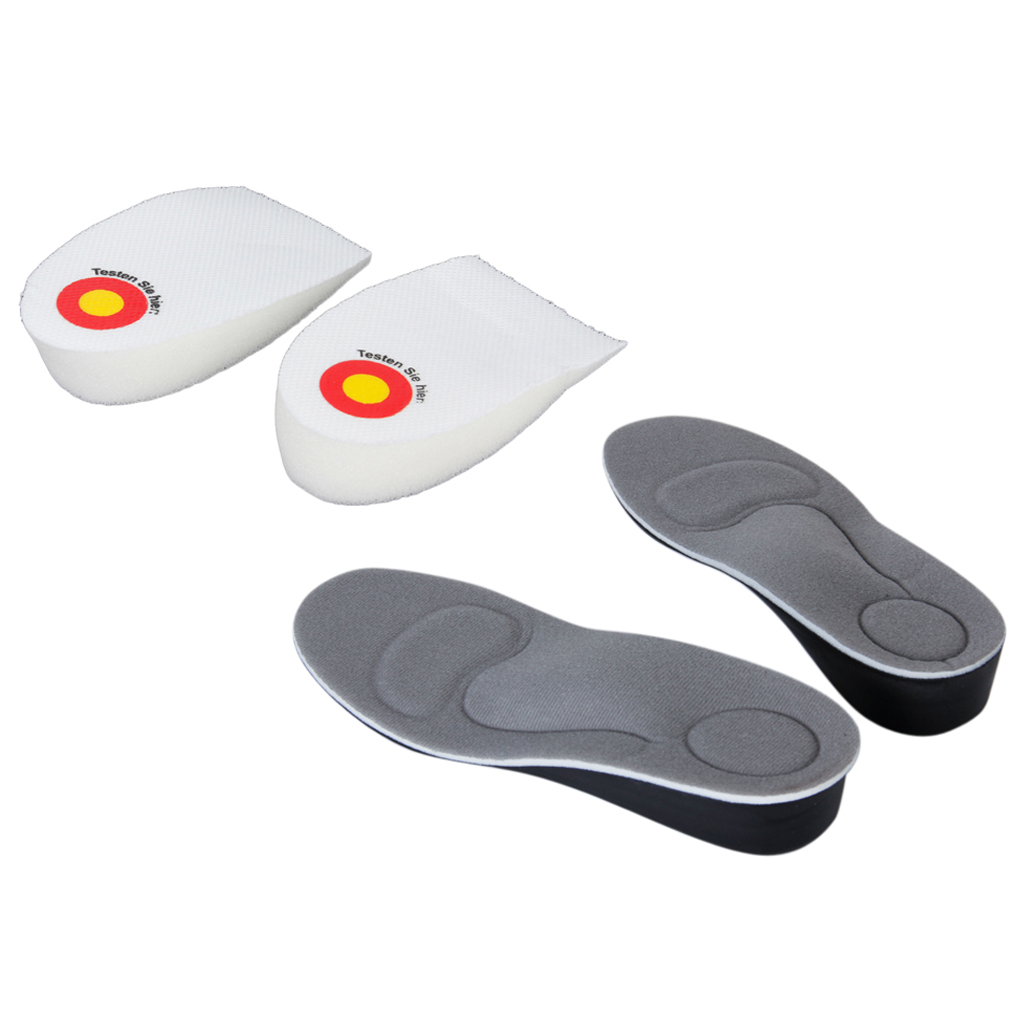 UK6.5-9.5 Arch Support Height Increase Insoles Heel Spur Pads Shoe Insoles