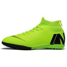 Heißer Verkauf Mens Fußball Stollen Hohe Ankle Fußball Schuhe Lange Spikes Outdoor Fußball Traing Stiefel Für Männer Frauen Fußball Schuhe(China)
