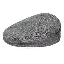 Baby Boys Herringbone Flat Hat Kids Vintage Drivers Hat Toddler Soft With Lining Cap Infant Thick Winter Warm Accessories(China)