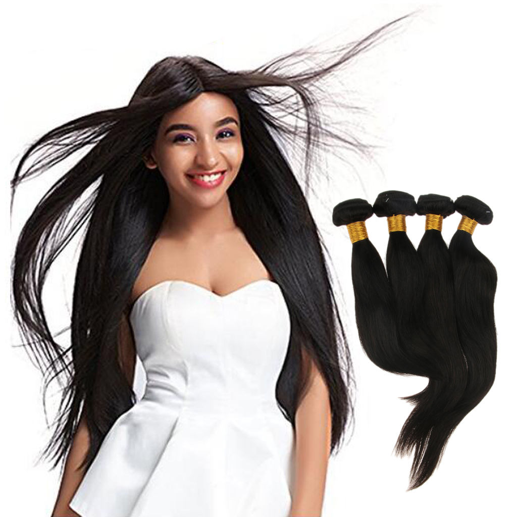 8A Brazilian Body Wave Hair Bundles 10 12 14 16inch Human Hair Extensions Weave Weft