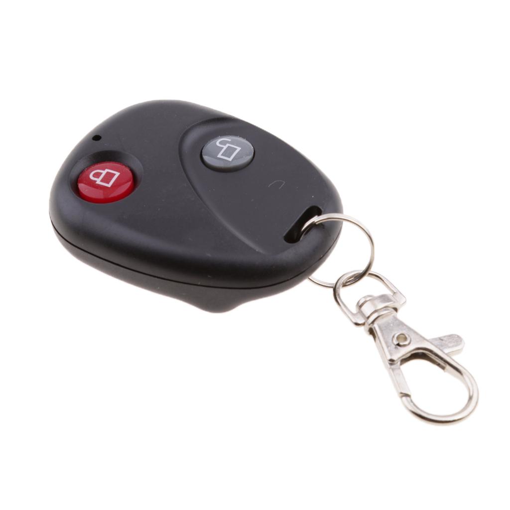 Alarm Security Remote Control Vibration Bike Cycling AntiTheft Wireless Lock