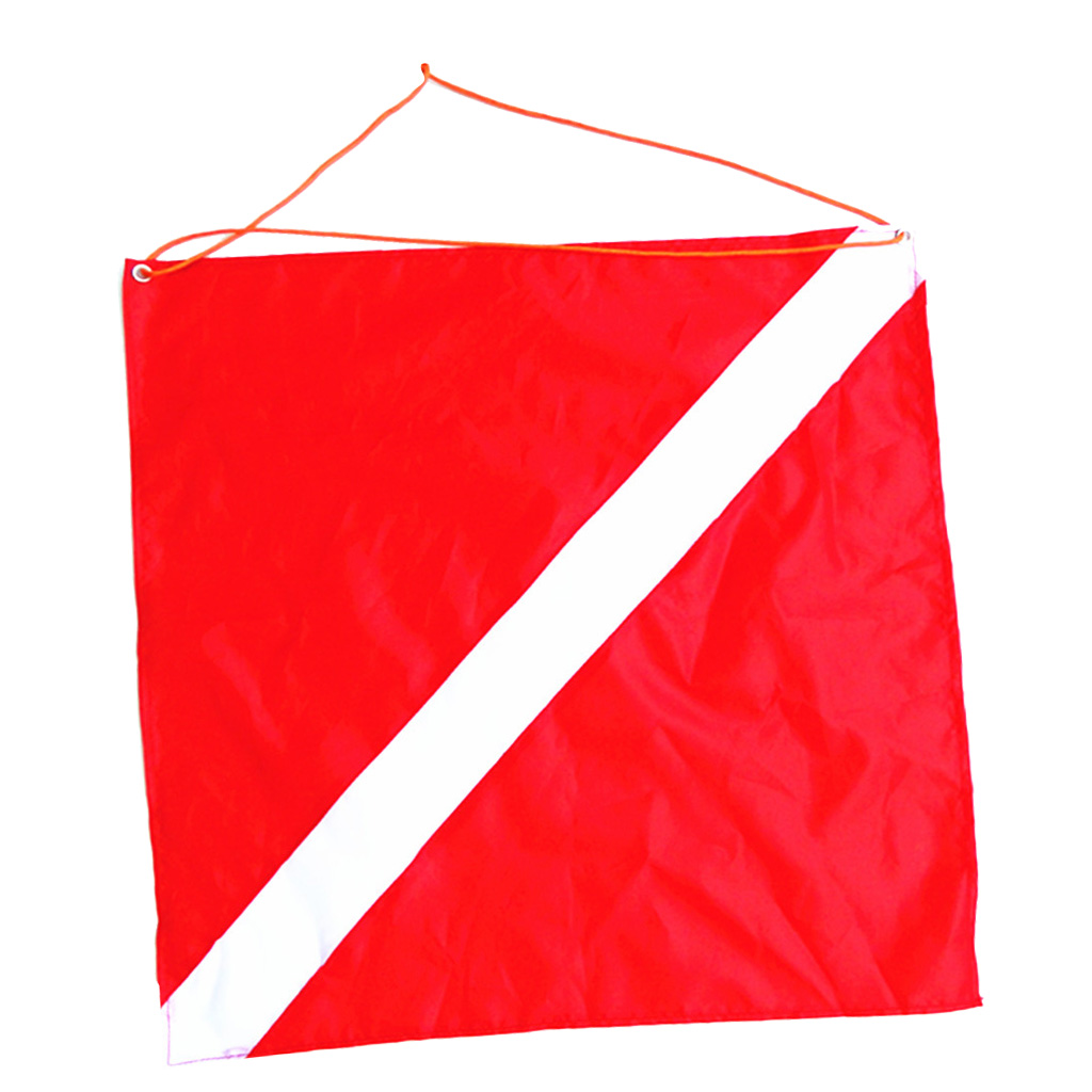 Diver Down Flag Scuba Flag Dive Equipment Novelty Boat ATV Spearfish 20x24