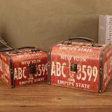 Strongwell стильная винтажная деревянная декоративная емкость для хранения брелок для хранения ювелирных изделий коробка для хранения Классич...(China)