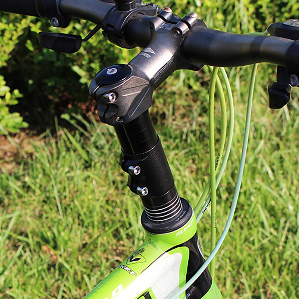 Tyrrrdtrd Elevador de Horquilla Delantera para Bicicleta Duradero para Manillar de Bicicleta de monta/ña