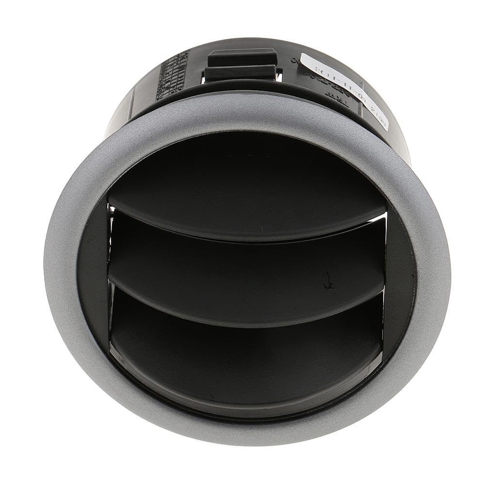2x Ventilaci/ón De Salida De Aire Del Tablero De Instrumentos Del Lado Frontal Negro Para 05-13 Suzuki SX4