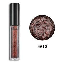 Navidad láser Metal diamante perla polvo sombra de ojos brillo destellos cosméticos brillantes pigmento de larga duración maquillaje TSLM1(China)