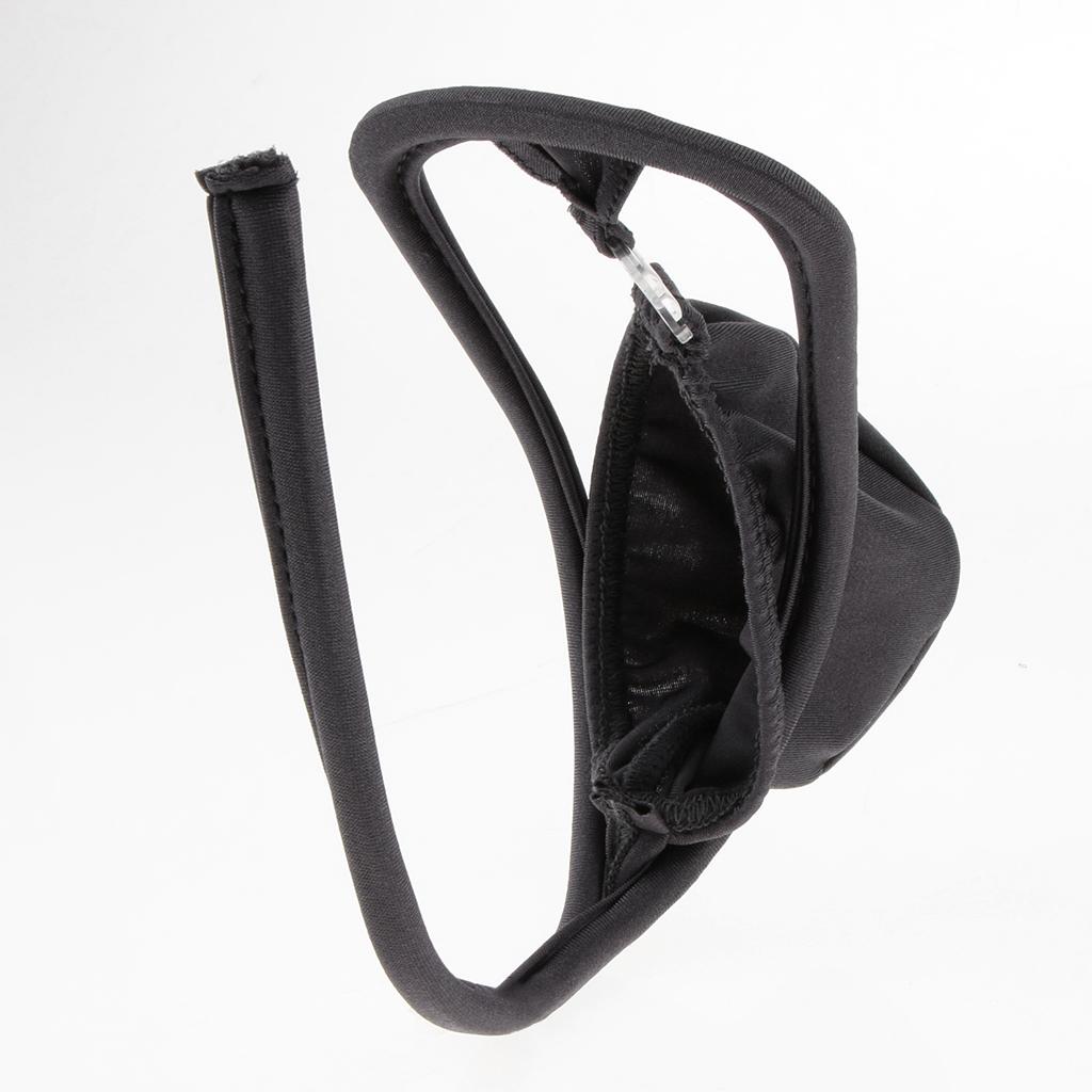 Mens Open Crotch C-string Brief Panty Underwear Invisible Underwear Bikini Thong Lingerie
