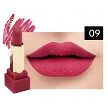 Baru Lipstik Matte Tahan Air Velvet Lip Stick 12 Warna Seksi Merah Coklat Pigmen Makeup Matte Lipstik Kecantikan Bergizi Bibir(China)