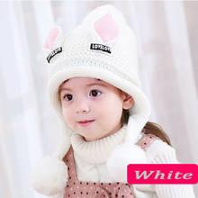 แฟชั่นเด็กเด็กหมวกถักหมวกหมวกหมวกฤดูหนาวหนอนหญิงเดี่ยว FUR POM(China)