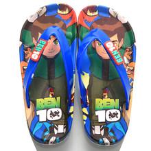ילדי סנדלי בני קיץ נעלי קריקטורה נעלי בית אופנה ספיידרמן מעצב בנות כפכפים החוף שטוח סנדלי מקלחת שקופיות(China)