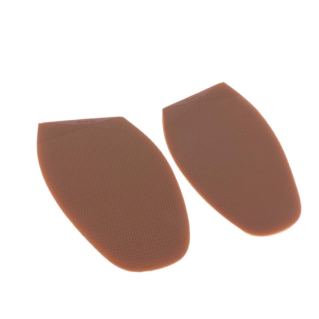 Rubber Glue On Half Soles Anti Slip Shoe Repair Tips Pad Replacement Brown