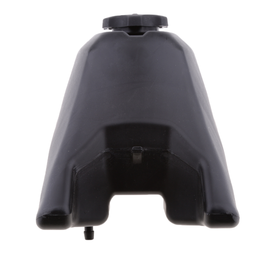 Motorcycle Gas Fuel Petrol Tank Storage Reservoir + Cap + Hose  for Yamaha PW50 PY50 ATV -Black