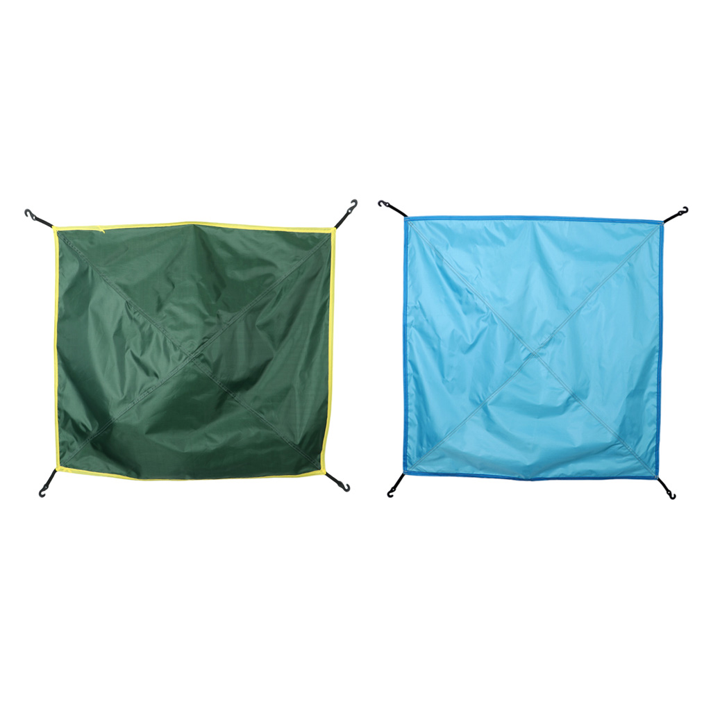 2 Packs Outdoor Camping Rainfly Hammock Rain Protect Cover Rainfly Sunscreen