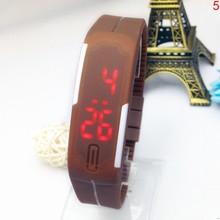 Relojes de silicona para niños, pulsera Digital deportiva LED, relojes para Fitness, pulsera electrónica resistente al agua, relojes para hombres y mujeres, relojes para niños(China)