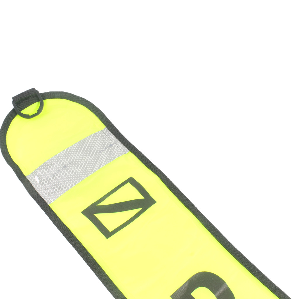150cm Scuba Diving Inflatable Safety Tube DIVER BELOW Signal Marker Buoy