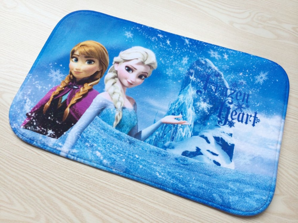 Frozen Carpet Ana Amp Elsa 38 58cm Area Rug Shaggy Rugs