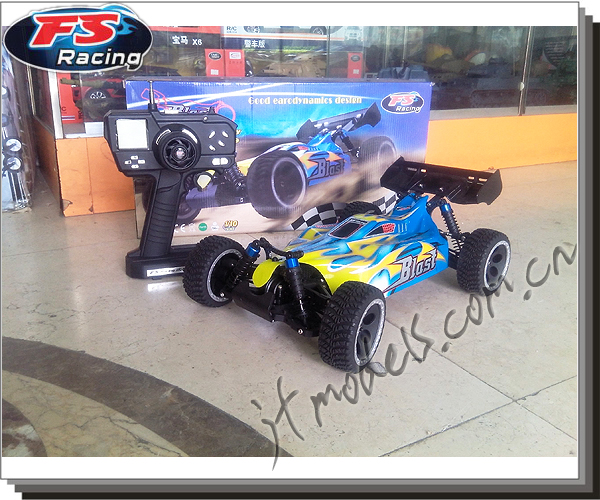 RC model car / FS Racing Team / HIGH QUALITY RADIO CONTROL MODEL / 1:10 Brushiess Buggy Car / 1:10 SCALE EP&BL BUGGY / FS-53619(China (Mainland))