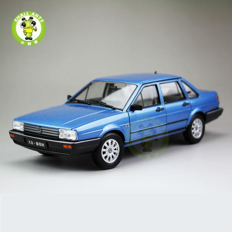 1:18 Scale VW Volkswagen Santana,Passat B2 Diecast Car Model Toys,Welly FX models Blue(China (Mainland))