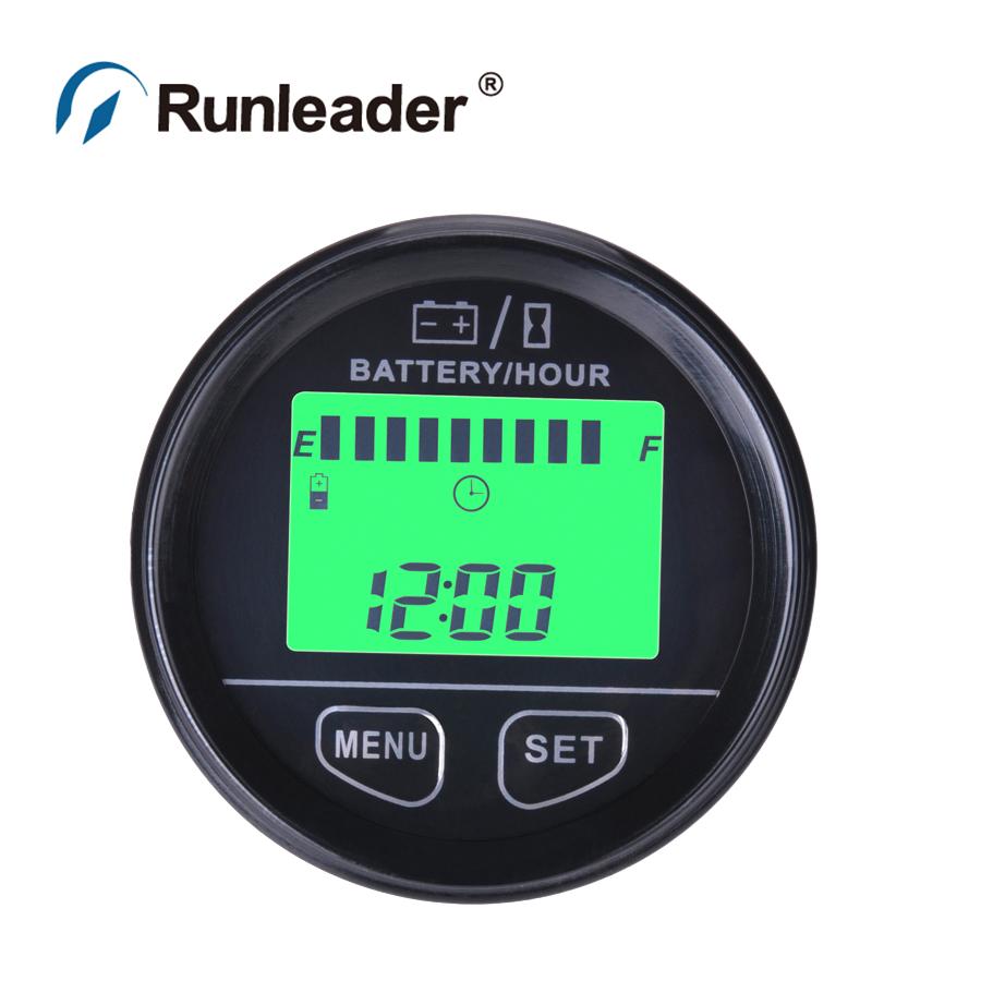 Marine Battery Meter : Rl bi large lcd display battery gauge agm gel felio