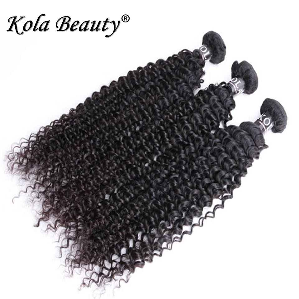 10A 3 bundles Kola Beauty hair products Malaysian kinky curly virgin hair malaysian curly hair malaysian virgin human hair weave<br><br>Aliexpress