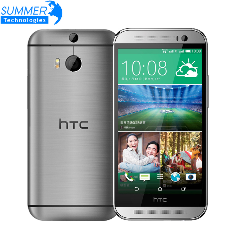 Original Unlocked HTC One M8 Marshmallow 5.0' inch 4G LTE Quad core 2G RAM 16GB ROM 3 Cameras Mobile Phone Refurbished(China (Mainland))