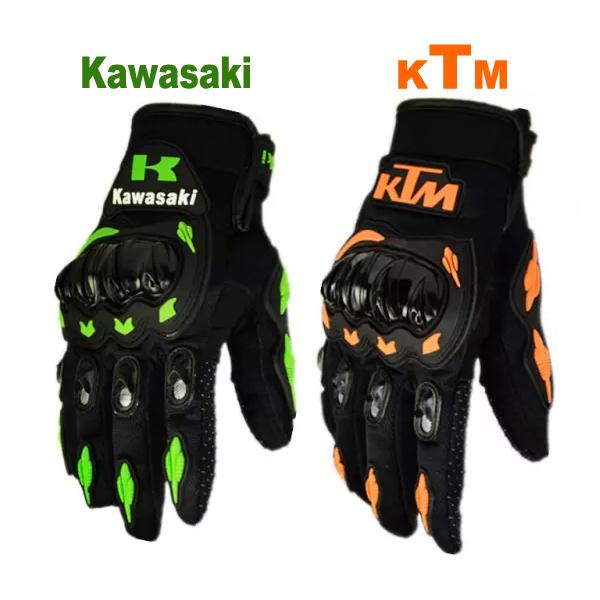 KTM Motorcycle gloves retro kawasaki Moto racing gloves Men's Motocross full finger gloves M/L/XL/XXL(China (Mainland))