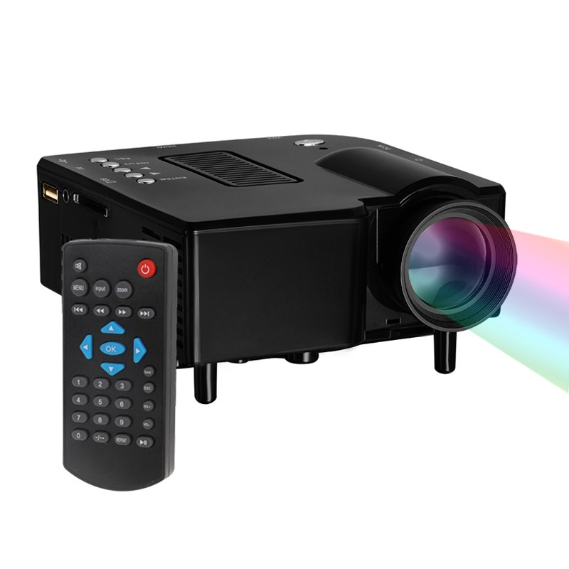 Original uc28 portable led projector cinea theater pc for Portable projector for laptop