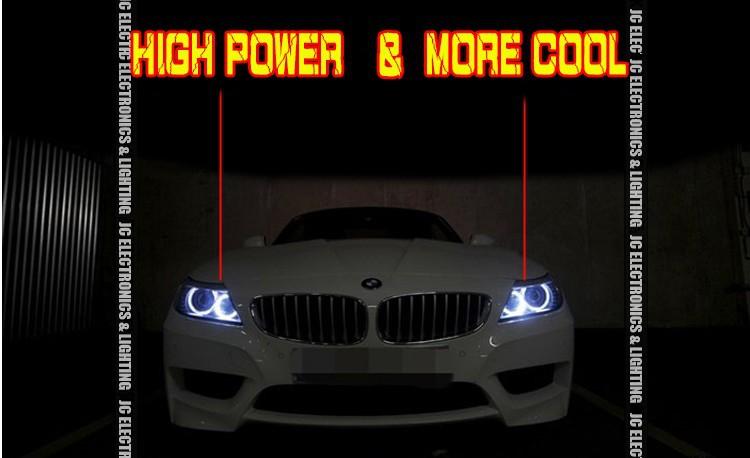 Купить Высокая мощность 25 Вт! Кри из светодиодов маркер для BMW E39 E60 E61 E87 E63 E64 E65 E66 E53 из светодиодов глаза ангела маркер для BMW 5 6 7 серии X3 X5