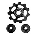 top quality 11T Bicycle Rear Derailleur Jockey Wheel Road MTB Bike Guide Roller Idler Pulley Cycling