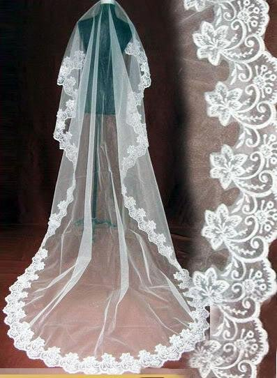 В наличии оптовая продажа цена белый тюль кружева свадебные аксессуары один слой фата 260 см