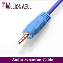 Millionwell 3.5MM Extension Earphone Headphone Audio Splitter Cable Adapter Male to Female 1.5m,3m,5m,10m Length for Multimedia