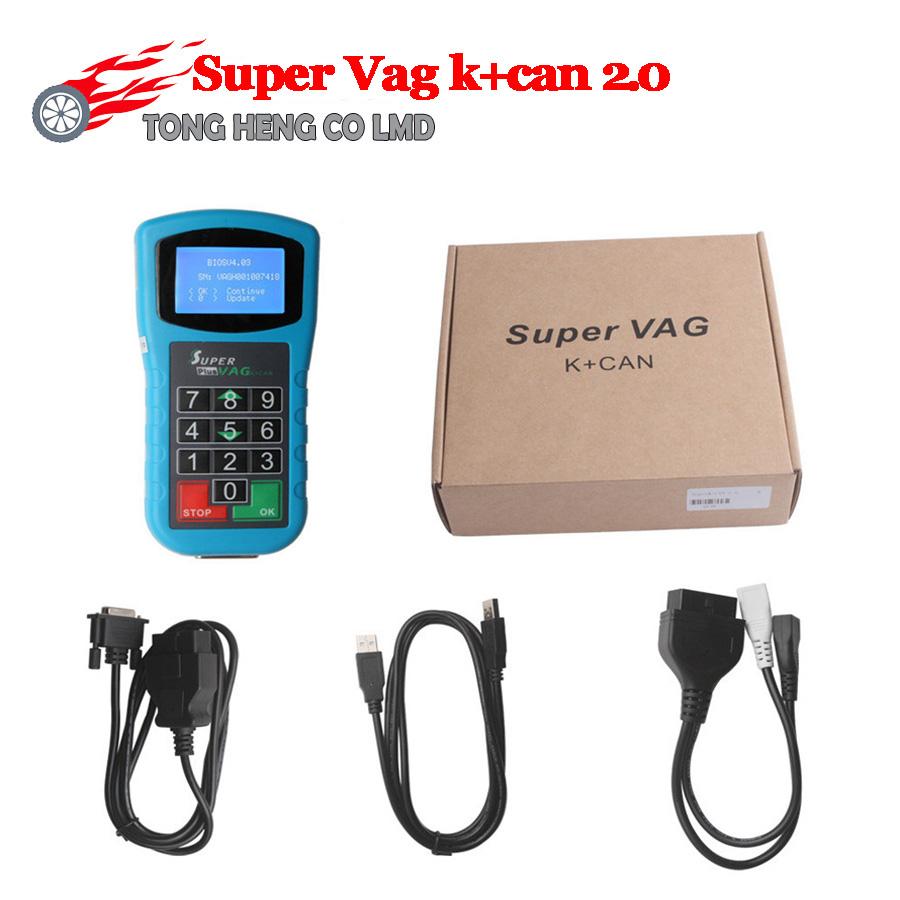 Free Shipping SUPER VAG K+CAN 2.0 OBD2 Motor Super Vag K Can 2.0 with Multi-funtions SUPER VAG K+CAN 2.0(China (Mainland))