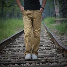 Casual Pants Men 2016 Hot Sale Solid Color Cargo Pants Outdoor Fashion Cotton Style Blend Trousers For Men Plus Size