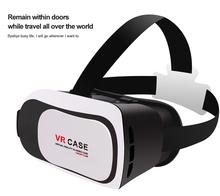 2016 Google Cardboard V2 VR BOX 2 II Smartphone Headset 3D Virtual Reality Glasses Helmet Oculus Rift DK2 Goggles + Controller(China (Mainland))