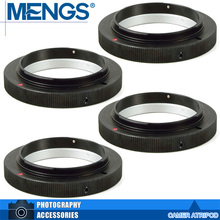 Buy MENGS 4Pcs per pack T2-OM Lens Mount Adapter Ring Alloy Aluminum Material T2/ T Lens 4/3 Camera Body, 14150000901 for $11.99 in AliExpress store