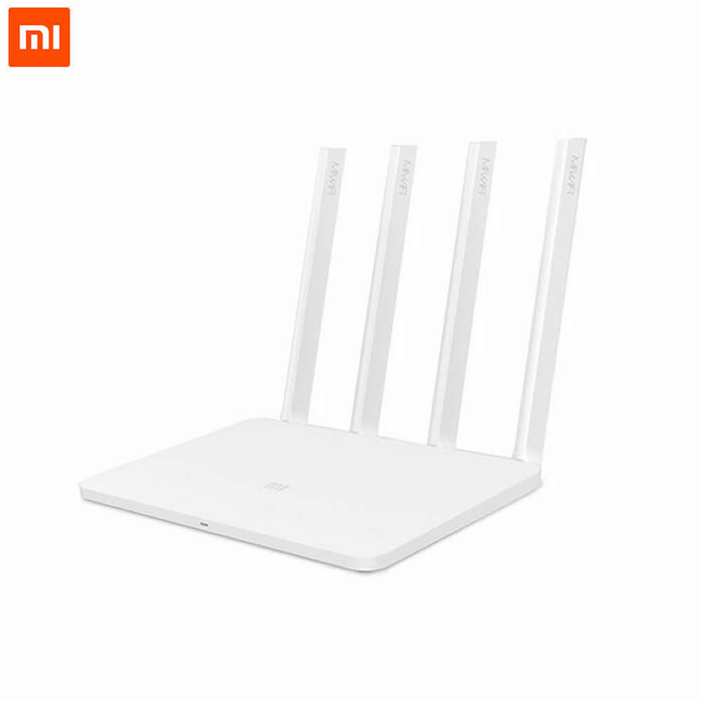 Original Xiaomi Router 3 Mini Mi WiFi Router 4 Antenna Roteador Dual Band 2.4G/5G 867Mbps USB With Smartphone APP Control(China (Mainland))