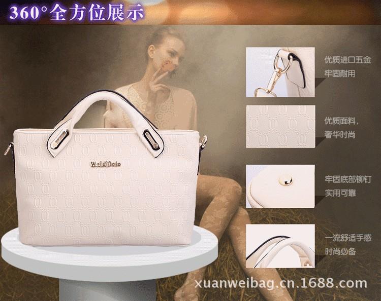 New 2013 Brand Large Totes Bag Genuine Leather Handbag Women Leather