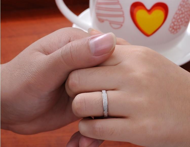 משלוח חינם חם למכור 925 כסף טהור בנות'finger טבעות תכשיטים סיטוני 1pcs/lot