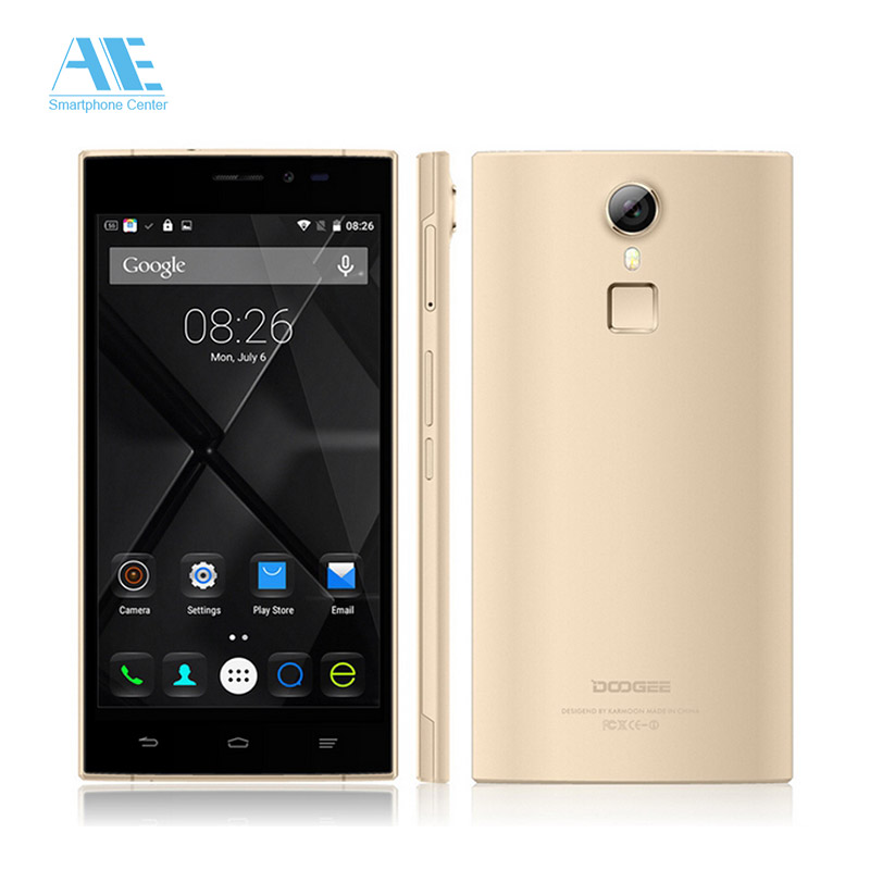 DOOGEE F5 5.5inch Android 5.1 MTK6753 Octa Core Cellphone,Ram 3GB+Rom 16GB Smartphone,4G LTE Fingerprint ID Mobile Phone(China (Mainland))