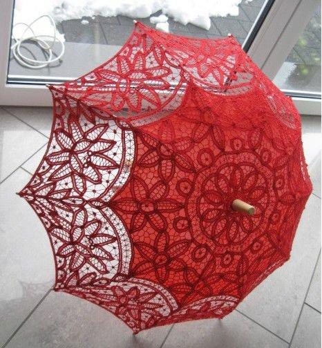 Зонт из гипюра своими руками 72