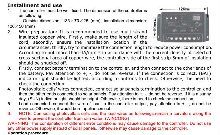 Solar Charger Controller Инструкция На Русском - фото 4