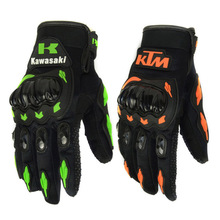 2016 NEW arrived KTM Brand Motorcycle Full Finger Glove ATV Armor Gloves Racing Guante Wholesale(China (Mainland))