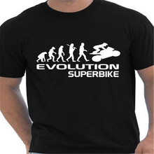 Evolution Of A Superbike Motorbike T font b Shirt b font Homme Funny font b Mens