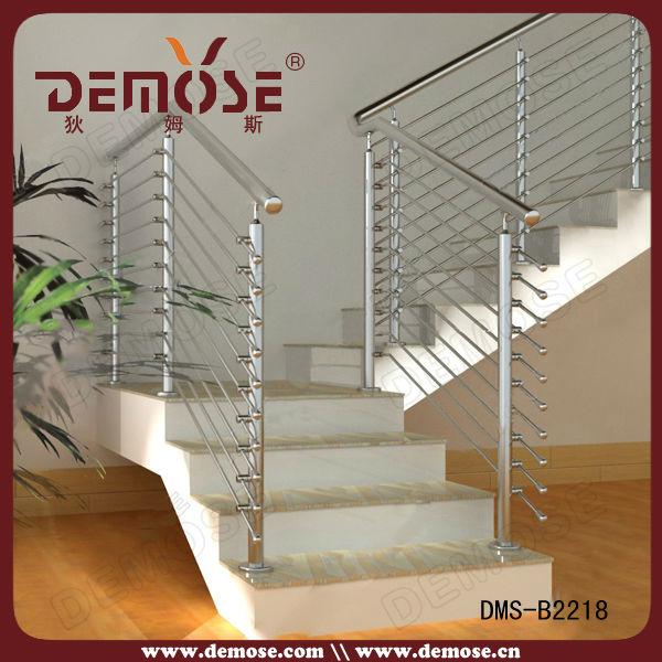 De acero inoxidable de interior diseño barandilla para escaleras ...