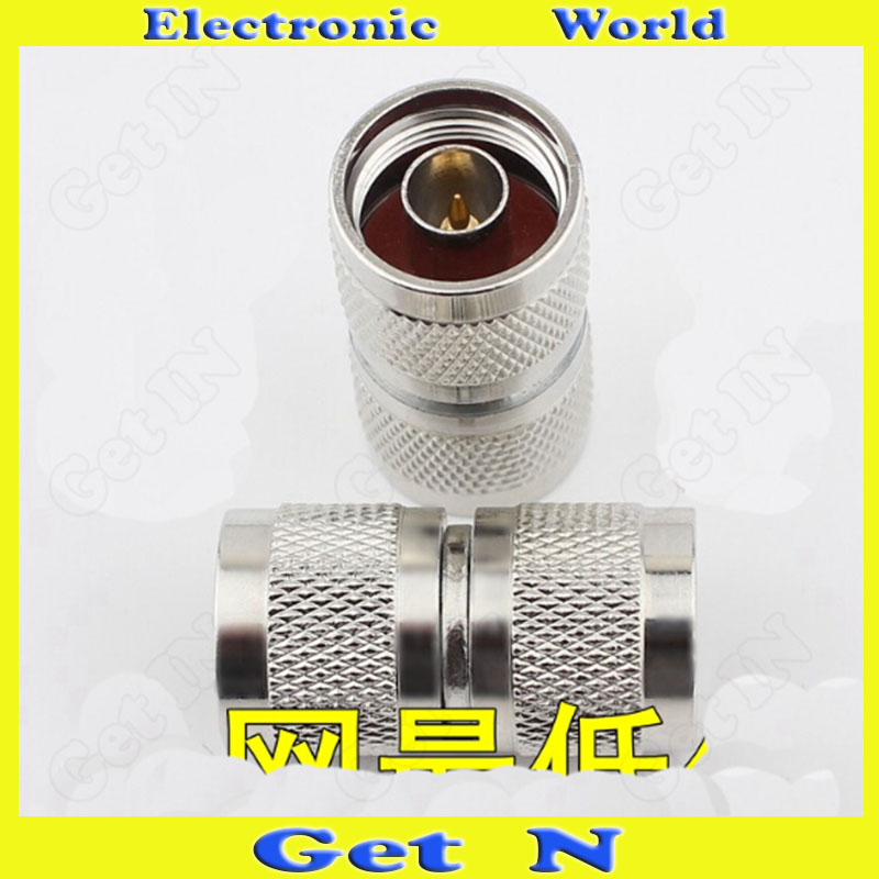 25pcs 50-12 N-JJ L16 Dual-Male Connector for Antenna 1-to-2 Connector 2-Way L16 Male от Aliexpress INT