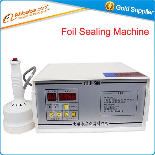 Hot selling GLF-500 electromagnetic induction aluminum foil sealing machine(China (Mainland))