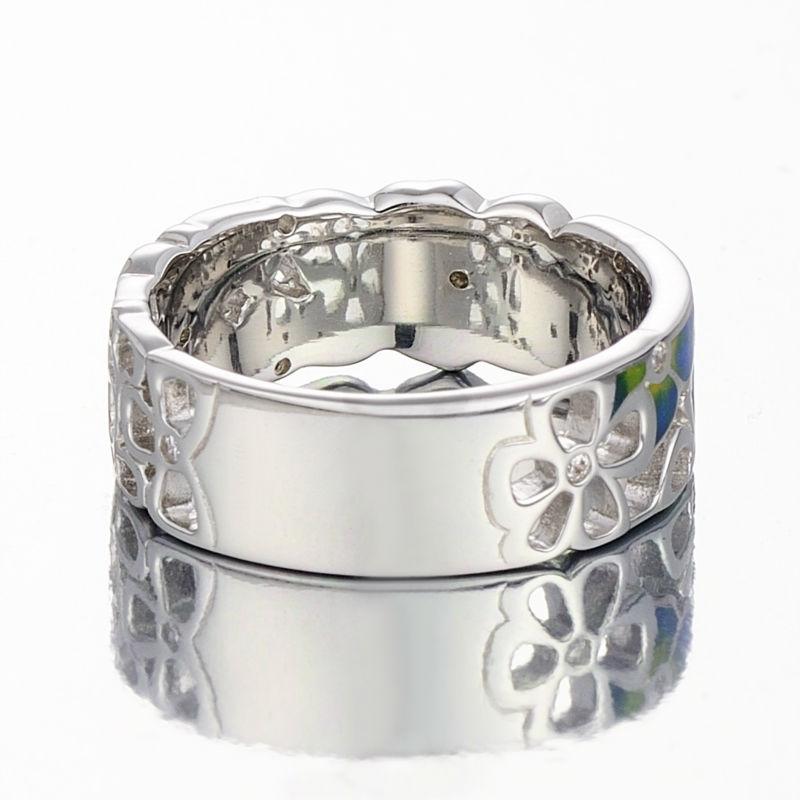 Silver Ring R309378ENABRW-SV3-W