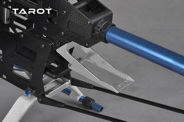 450 Sport-V2 Helicopter Part Tarot Metal tail servo mount White TL2757