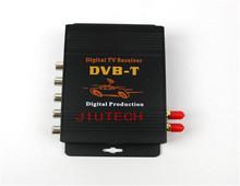 High Speed DVB-T Mobile Digital ATSC USA Digital TV Receiver 4 Video input TV-Box(Hong Kong)