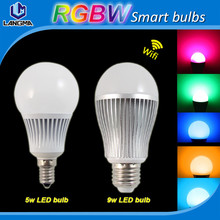Mi Light LED Bulb Lamp 2.4G Wireless Wifi Control 4W 5W 6W 8W 9W 12W RGBW RGBWW CW/WW lampada LED Dimmable Bulb Lamp spot light(China (Mainland))